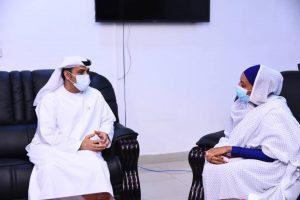 وزير التربية والتعليم في السودان وسفير الإمارات لدى السودان