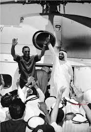 الرئيس جعفر محمد نميري، أول رئيس عربي وعالمي يزور الإمارات بعد الإتحاد