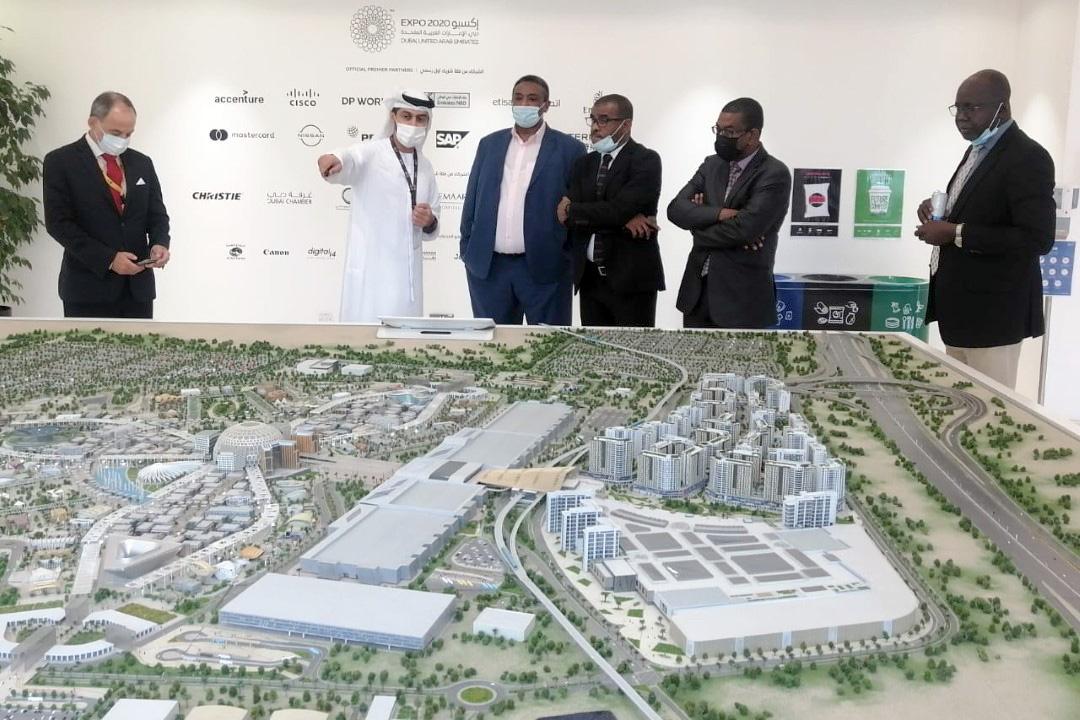 الإمارات تكفلت بجناح السودان وجعلته مجاور لجناحها الوطني